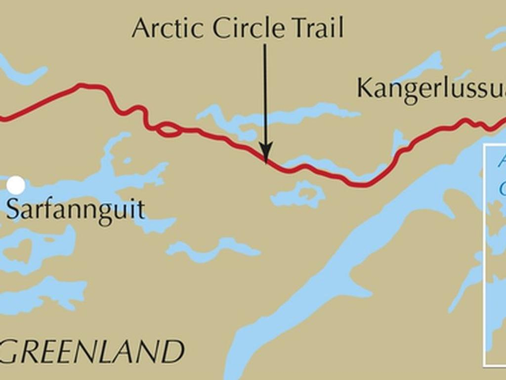 arctic circle trail guide