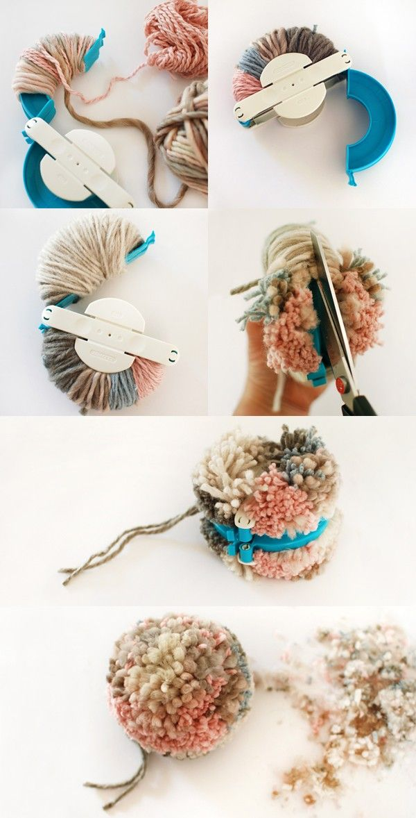 clover pom pom maker instructions pdf