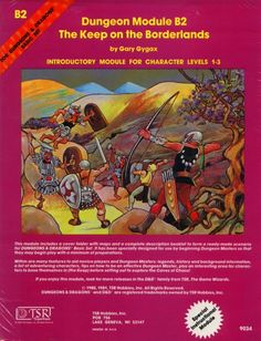 ad&d keep on the borderlands pdf