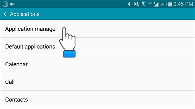 application manager google