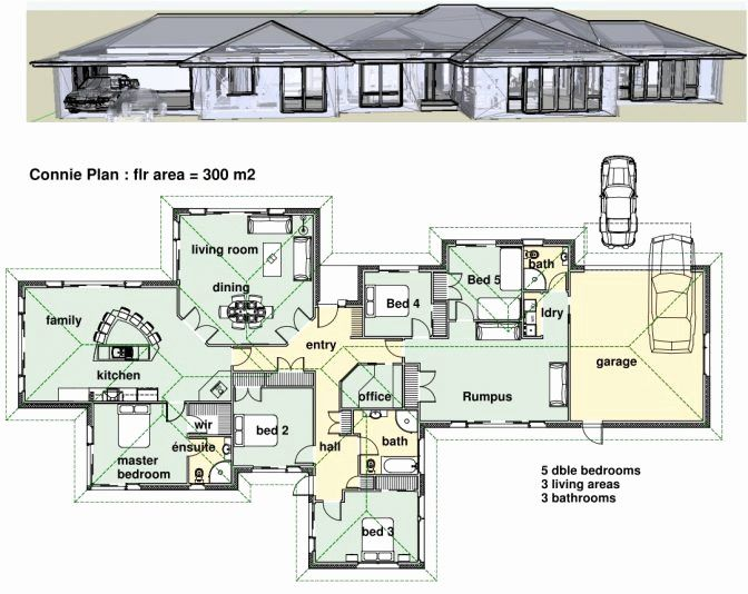 3 bedroom house plans pdf