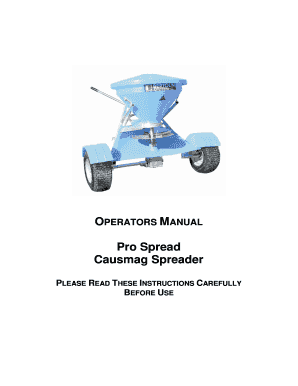bertolini spreader manual