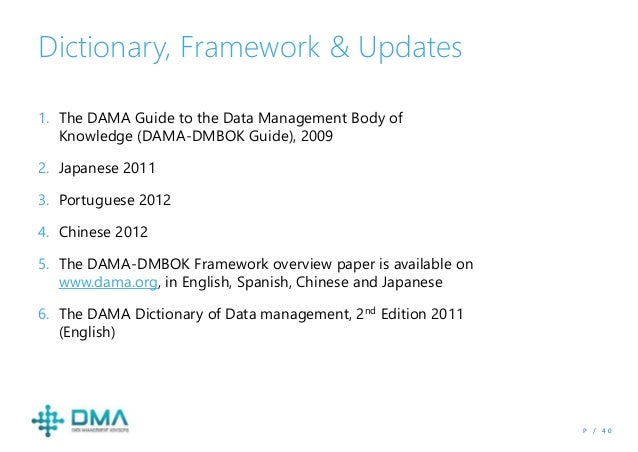 dama dmbok 2nd edition pdf
