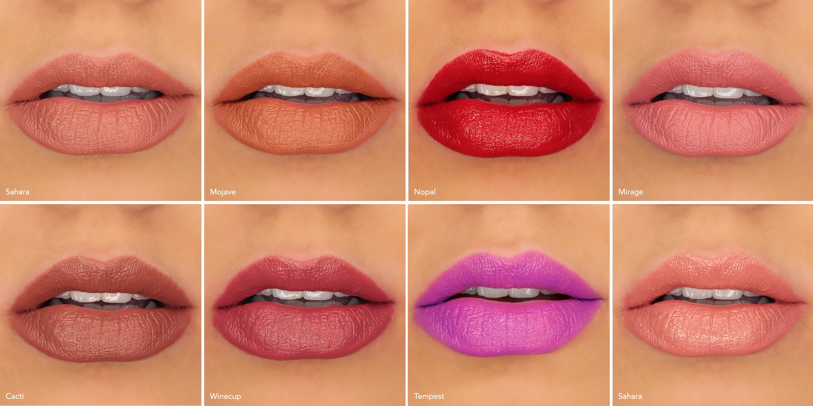 100 pure lipstick guide