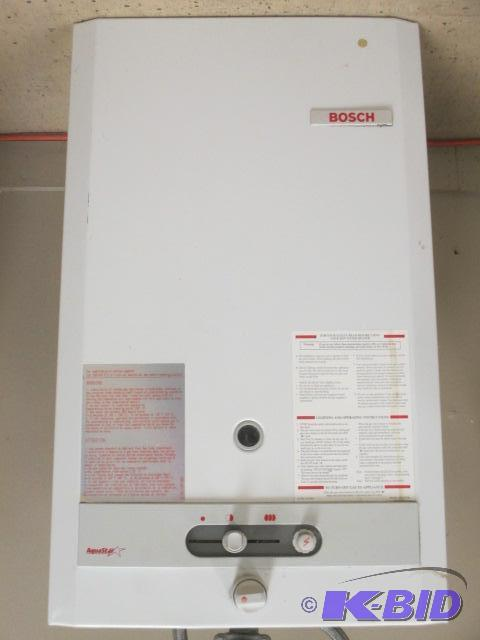bosch instant water heater manual