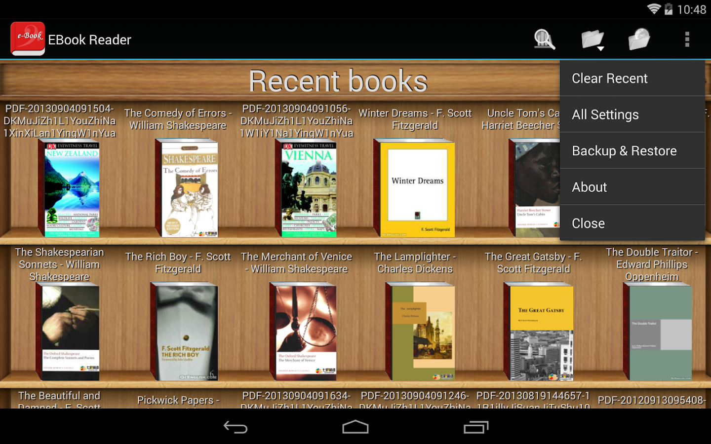best android app to read pdf books