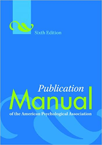 apa manual 6th pdf download