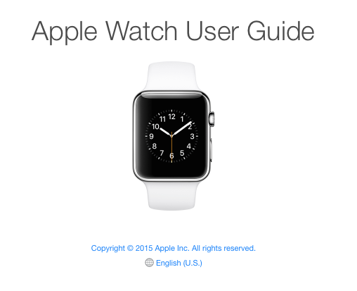apple watch 4 manual pdf