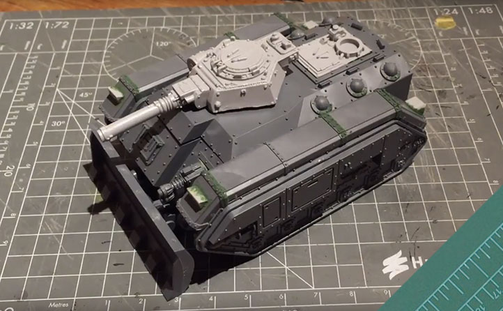 40k chimera instructions