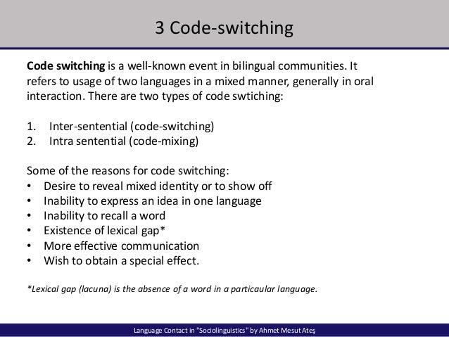 code switching and code mixing in sociolinguistics pdf