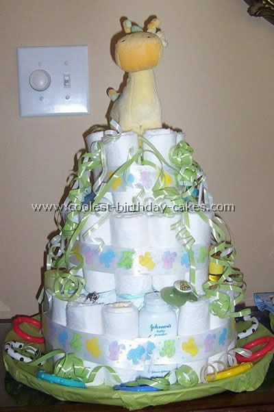 diaper cake ideas and instructions