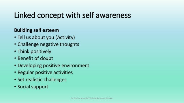 benefits of self awareness pdf