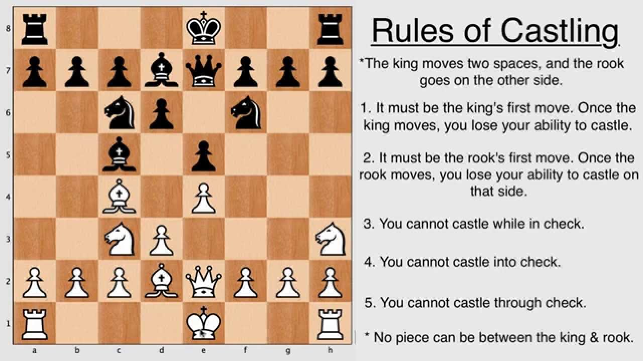 chess instructions