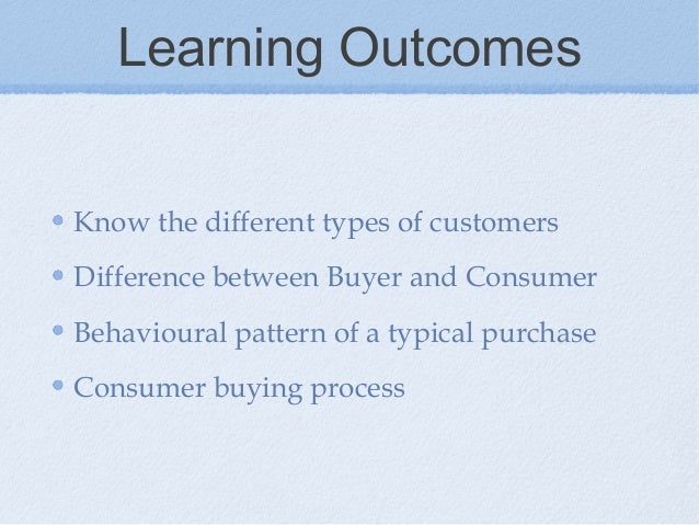 difference between consumer and customer pdf