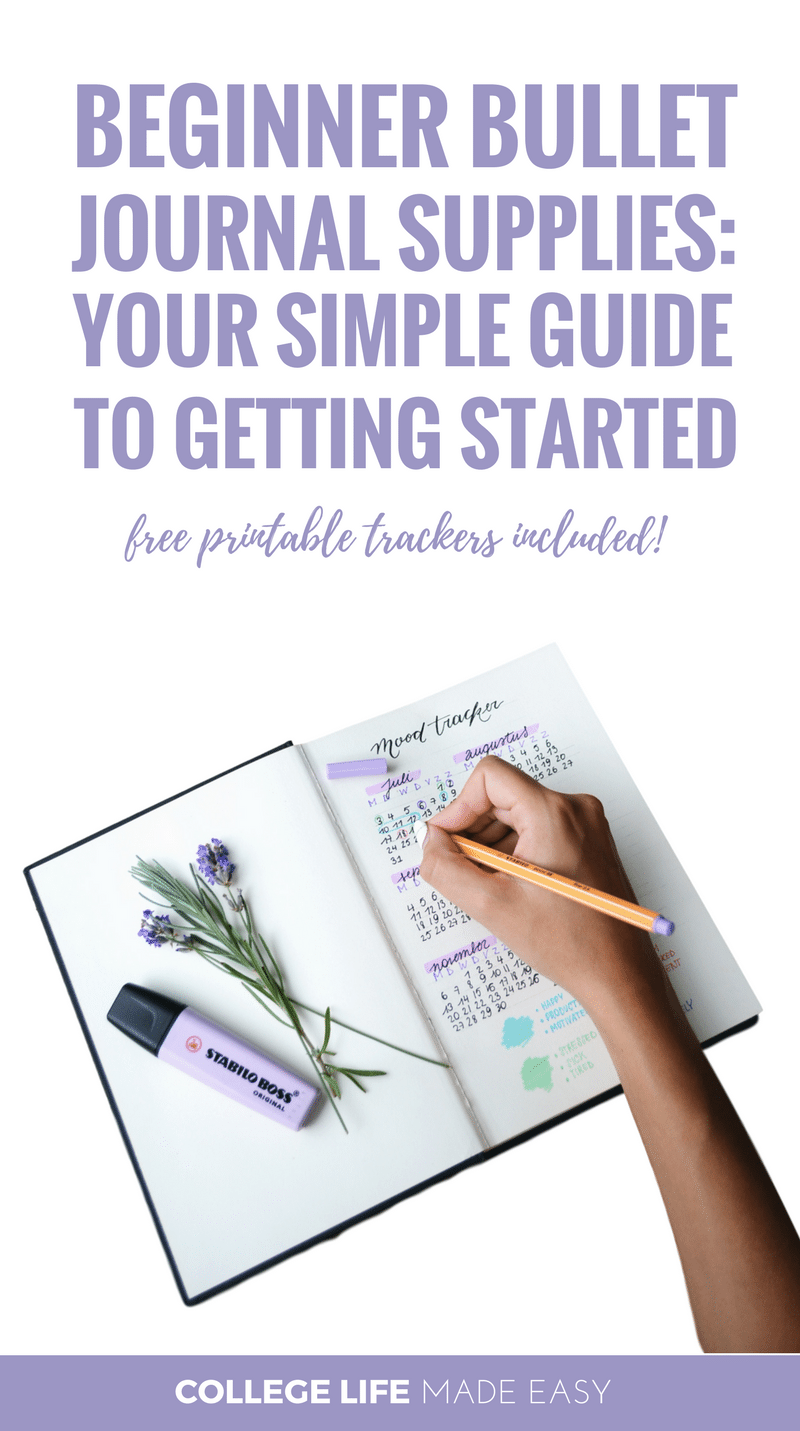 bullet journal getting started guide