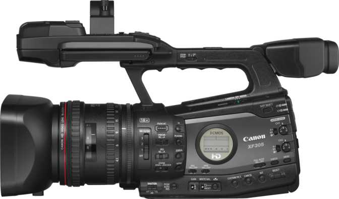 canon xf305 manual