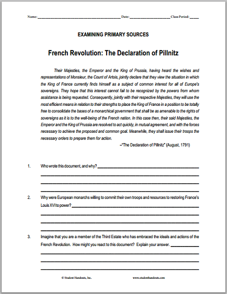 causes of the french revolution essay pdf