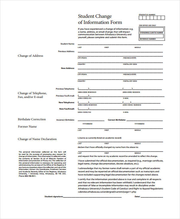 changing details in a pdf