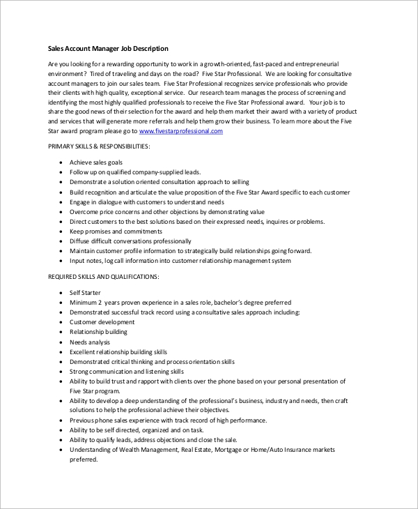 client relationship manager job description pdf
