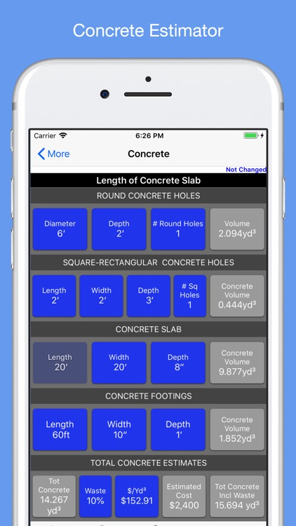 construction guide calc