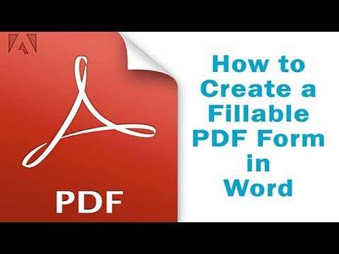 crating pdf form form word